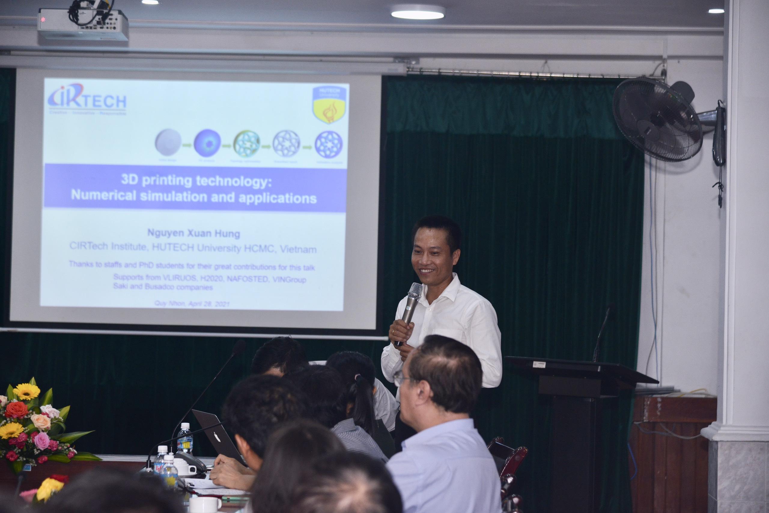 GS. TS. Nguyễn Xuân Hùng - Viện CIRTech - Hutech